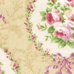 Lecien - Rococo Sweet 2014 - Floral Cameo in Ivory