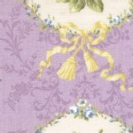 Lecien - Rococo Sweet 2014 - Floral Cameo in Lavender