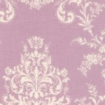 Lecien - Rococo Sweet 2014 - Damask in Lavender