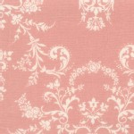 Lecien - Rococo Sweet 2014 - Damask in Dusk Rose