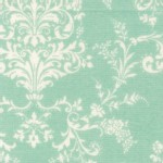 Lecien - Rococo Sweet 2014 - Damask in Seamist