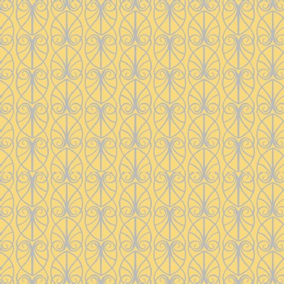 Lewis And Irene - April Showers - Parisian Fretwork in Yellow