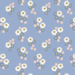 Lewis And Irene - Flos Wildflowers - Daisies in Blue