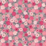 Lewis And Irene - Flos Wildflowers - Wild Rose in Pink