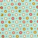 Michael Miller Fabrics - Bake Shop - Tic Tac Donuts in Pistachio