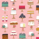 Michael Miller Fabrics - Bake Shop - Sweet Cakes in Confection