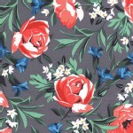 Michael Miller Fabrics - Bed of Roses - Roses in Pearl
