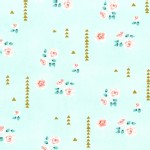 Michael Miller Fabrics - Brambleberry Ridge - Rosemilk in Mint