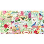 Michael Miller Fabrics - Florals - Menagerie Collage in Multi