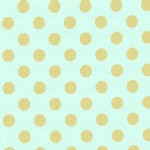 Michael Miller Fabrics - Glitz - Quarter Dot in Mist