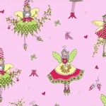 Michael Miller Fabrics - Holiday - Hollywood Pixie  in Candy