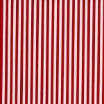 Michael Miller Fabrics - Holiday - Clown Stripe in Red