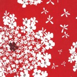 Michael Miller Fabrics - Holiday - Wild Carrot - Christmas on BrambleberryRidge in Red