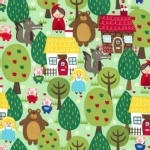 Michael Miller Fabrics - Kids - Into the Forest in Forest