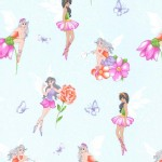 Michael Miller Fabrics - Kids - Fairy Frolic in Mist