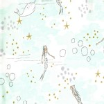 Michael Miller Fabrics - Magic - Mermaid Magic in Mist