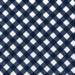 Michael Miller Fabrics - Mod Basics - Bias Gingham in Denim