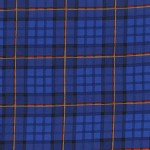 Michael Miller Fabrics - Nutcracker - Plaid in Royal
