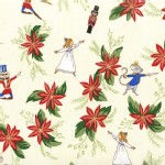 Michael Miller Fabrics - Nutcracker - Floral in Cream