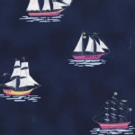 Michael Miller Fabrics - Out to Sea - My favorite ship in Bree