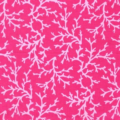 Michael Miller Fabrics - Sea Buddies - Sea Coral in Raspberry