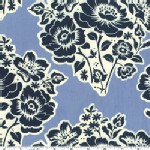 Michael Miller Fabrics - Secret Garden - Cut Flowers in Midnite