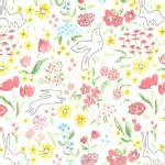 Michael Miller Fabrics - Sommer - Garden in Bloom