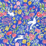 Michael Miller Fabrics - Sommer - Garden in Blueberry