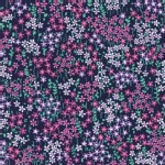 Michael Miller Fabrics - Swan Lake - Bitty Floral in Midnight