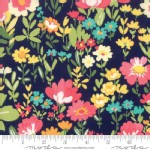 Moda Fabrics - Lawns - Regent Street 2018 - English Garden in Navy