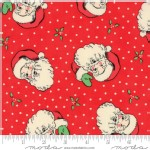 Moda Fabrics - Swell Christmas - Santa in Red