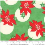 Moda Fabrics - Swell Christmas - poinsettia in Green