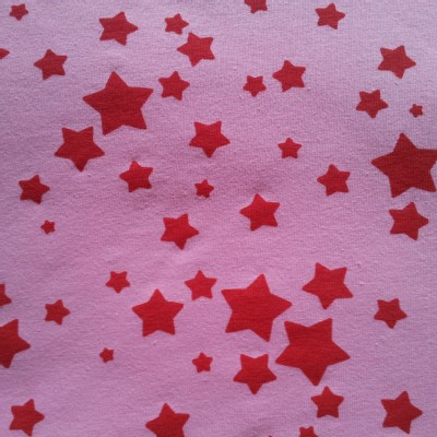 One Red Blossom - Knits  - Stars - Red in Pink