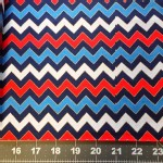 Quilting Treasures - Basics - Chevron in Patriot