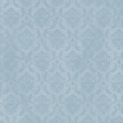 Quilting Treasures - Gorjuss On Top of the World - Damask in Blue