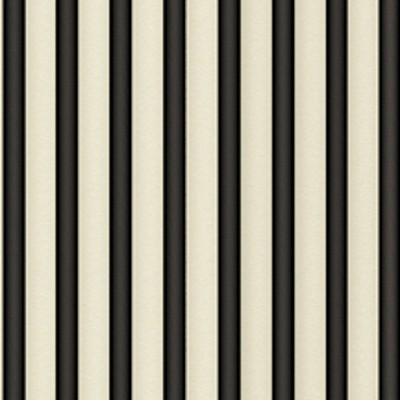 Quilting Treasures - Simply Gorjuss - Stripe in Black / Ecru