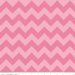 Riley Blake Designs - Chevron - Medium Tonal in Hot Pink