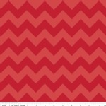 Riley Blake Designs - Chevron - Medium Tonal in Red