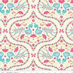 Riley Blake Designs - Flutterberry - Plume in Cream
