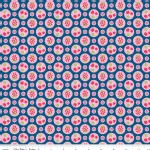Riley Blake Designs - Flutterberry - Berries in Navy