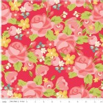 Riley Blake Designs - Hello Gorgeous - Main Floral in Pink