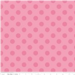 Riley Blake Designs - Hollywood - Sparkle Dots in Hot Pink