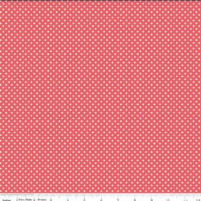 Riley Blake Designs - Kensington - Dots in Red