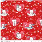 Riley Blake Designs - Kewpie - Main in Red