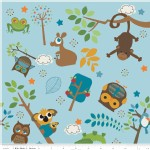 Riley Blake Designs - Kids - Hooty Hoot Returns in Blue