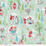 Riley Blake Designs - Little Red In the Woods - Main in Mint