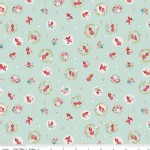 Riley Blake Designs - Little Red In the Woods - Toss in Mint