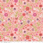 Riley Blake Designs - Little Red In the Woods - Floral in Pink