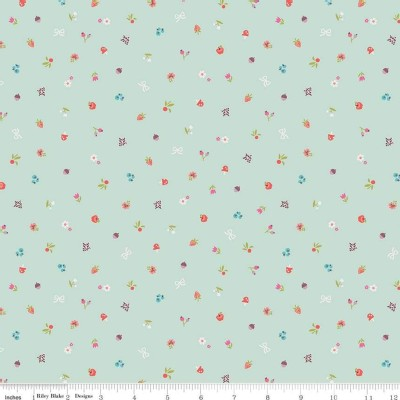 Riley Blake Designs - Little Red In the Woods - Bits in Mint