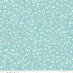 Riley Blake Designs - Little Red In the Woods - Bows in Teal